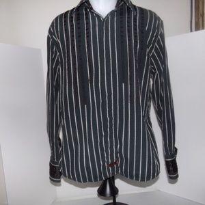 vintage fender long sleeve shirt size large